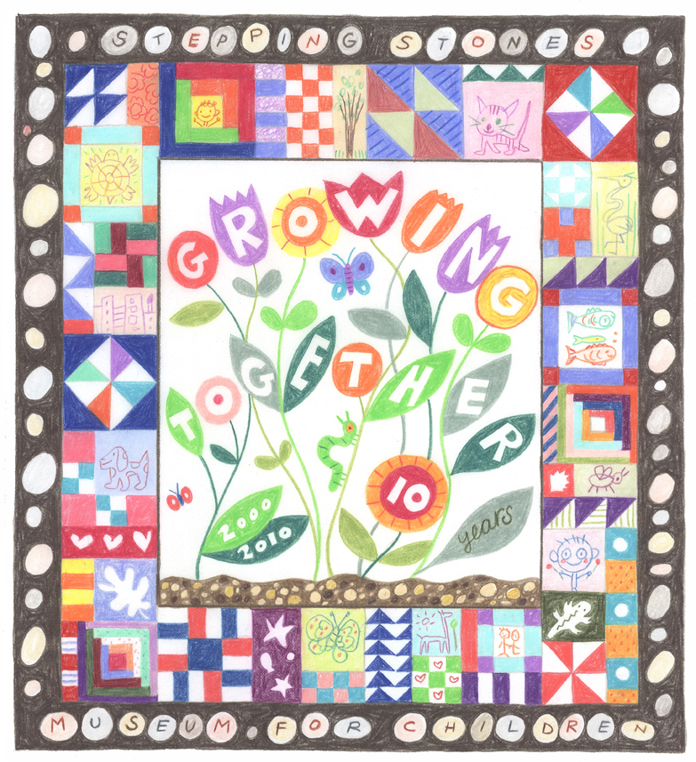 Sketch for Growing Together Quilt