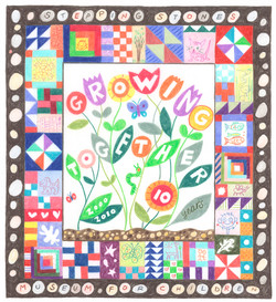 Drawing for Stepping Stones Quilt