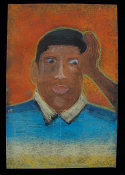 Robbie, self portrait