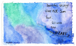 Michelle's blue quote