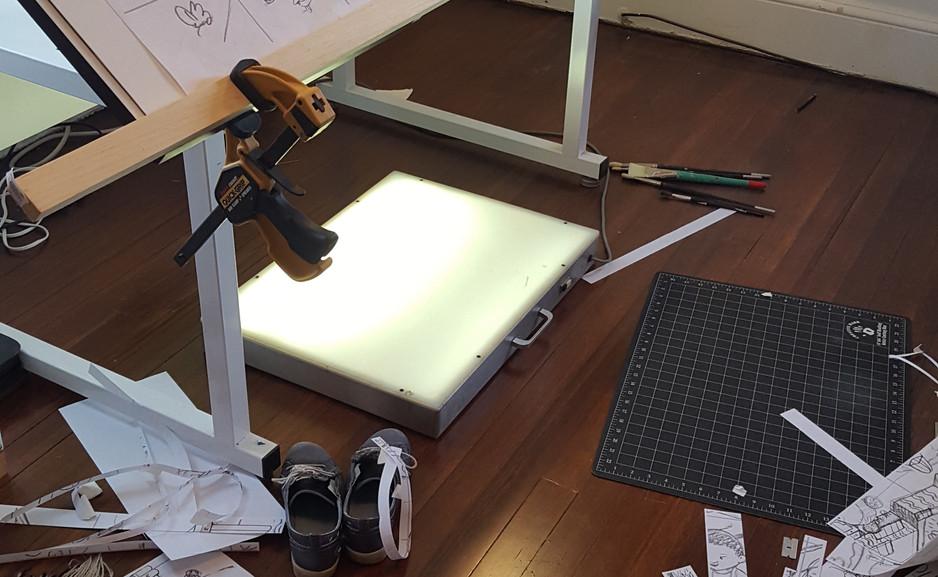 Splicing the Printouts