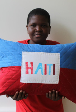 Handel, Haiti Pillow