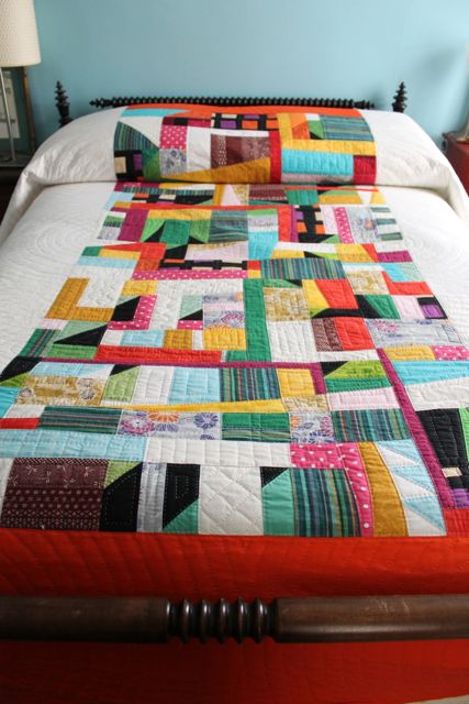 Lizzy's bed quilt