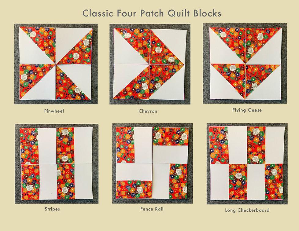 Classic four Patch Quilt Blocks flat.jpg
