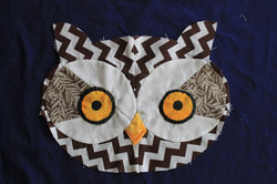 Owl head SoNo Library Quilt