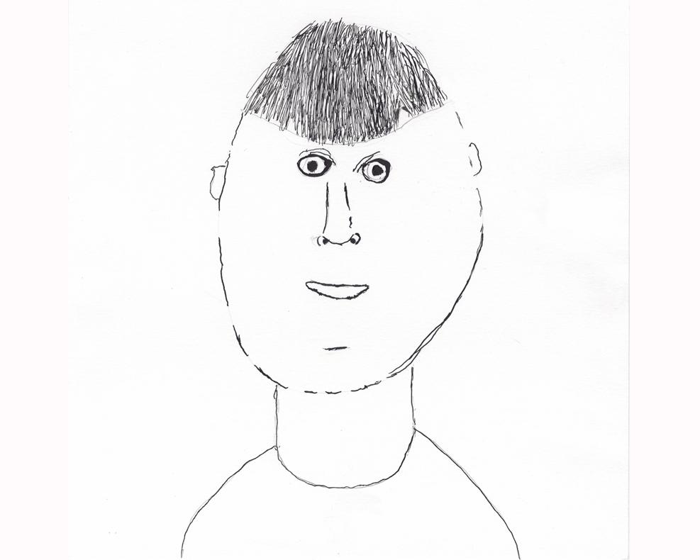 AJ's self portrait
