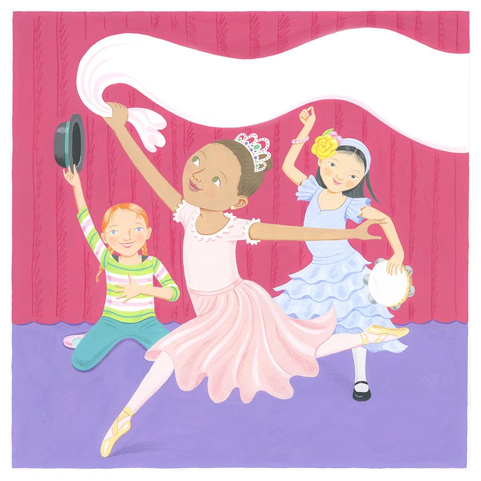 Jazz Ballet and Salsa Dancers