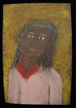 Diana, self-portrait