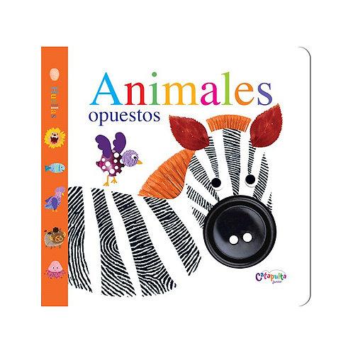 Libro Huellas - Animales Opuestos