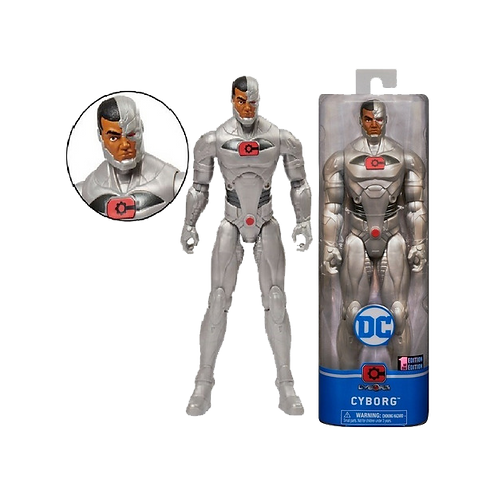 DC - Cyborg ARTICULADO