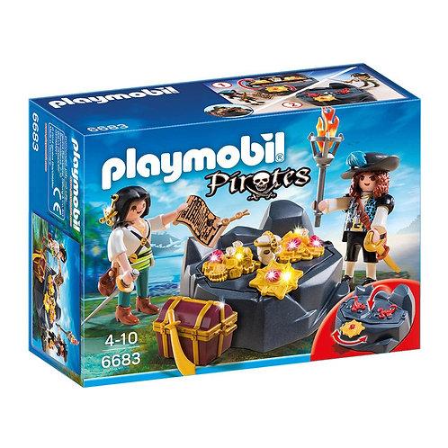 Playmobil - Piratas y Tesoro