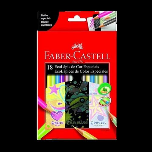 Faber Castell - 18 Lápices Colores Especiales