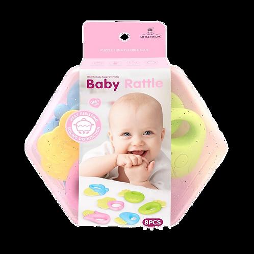 Baby Rattle - Mordillos Bebes Set x8