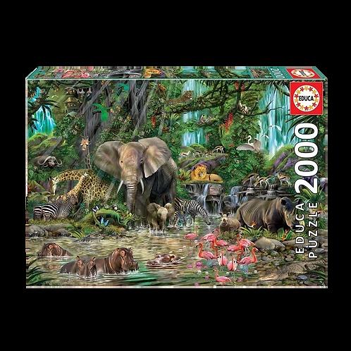 Educa Puzzle - 2000 Piezas Animales