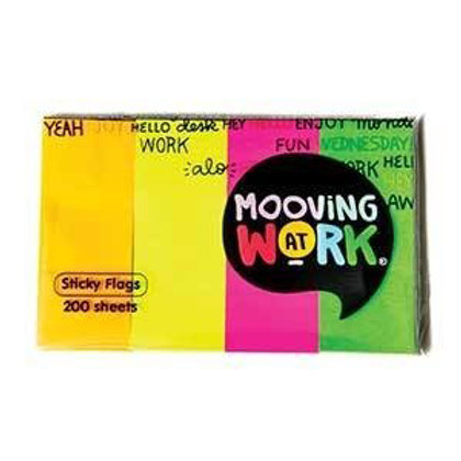 Mooving At Work - Sticky Flags