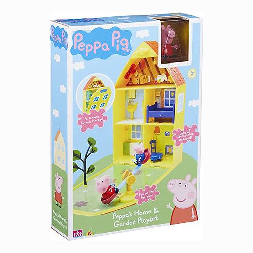 Peppa Pig - Casa y jardin de Peppa