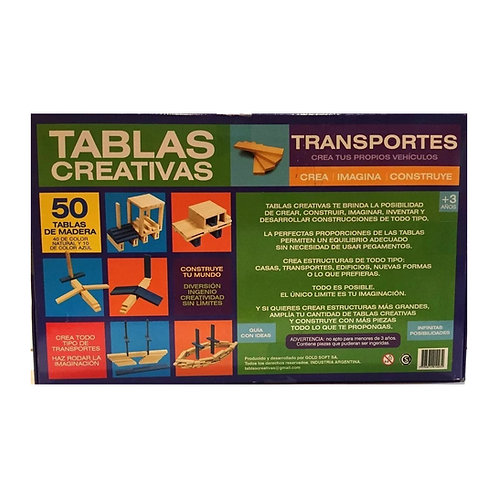 Tablas Creativas - Transportes
