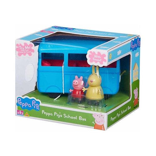 Peppa Pig - Autobus Escolar C/Sonidos