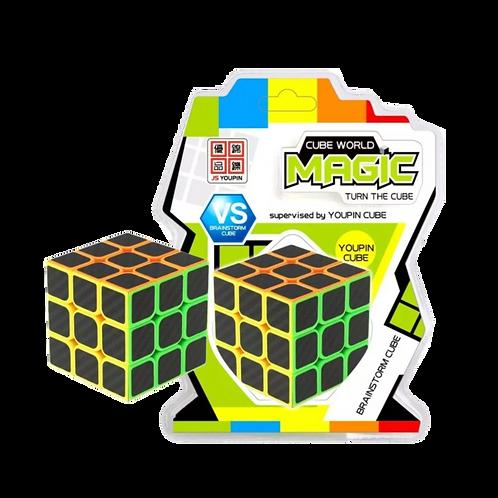 Cubo Mágico - Carbono - 3x3