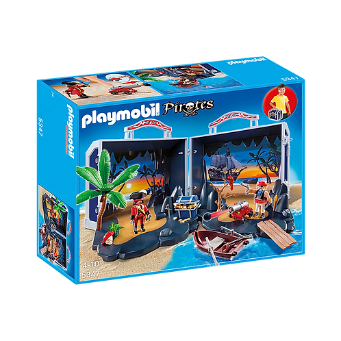 Playmobil - Cofre de la Isla Pirata