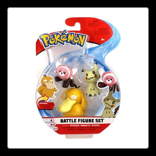 Pokemon - Batalla de Figuras x3