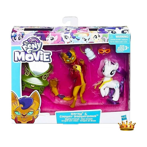 My Little Pony  - Rarity y Capper Dapperpaws