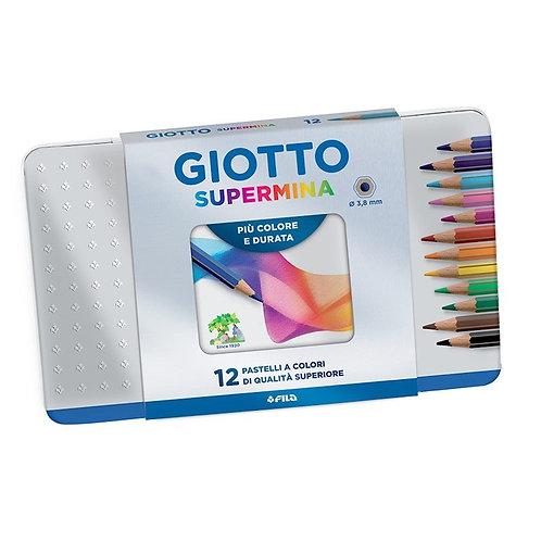 Giotto - Lápices Supermina x12 en LATA