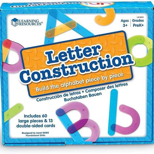 Construccio de Letras - Letter Construction