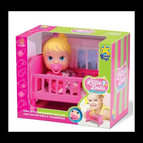 Little Dolls - Beba con cuna