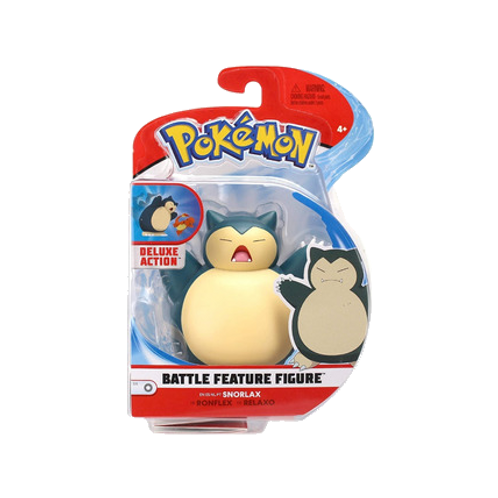Pokemon - Batalla de Figuras Snorlax