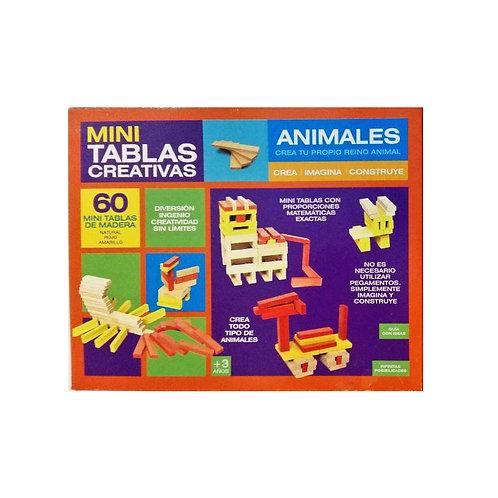 Mini Tablas Creativas - Animales