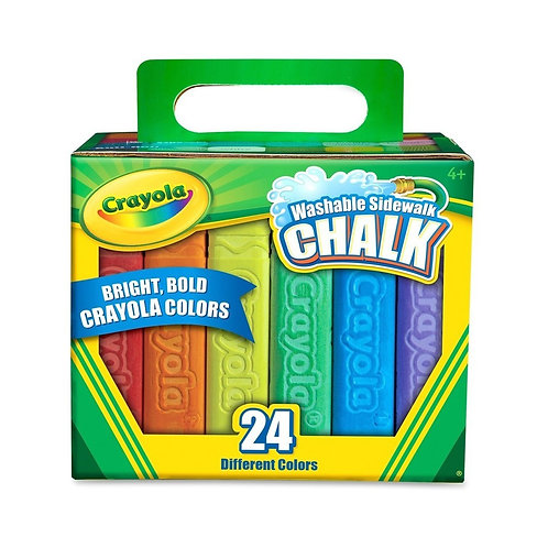 Crayola - Tizas JUMBO lavables x24