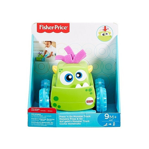 Fisher Price - Monstruo Presiona y Persigue