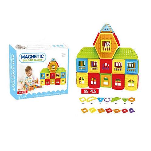 Magnetic  - Bloques Magneticos 99 piezas