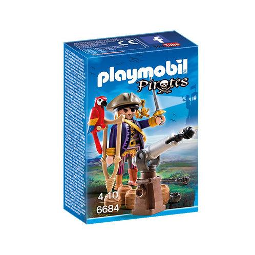 Playmobil - Pirata con Loro y Cañón