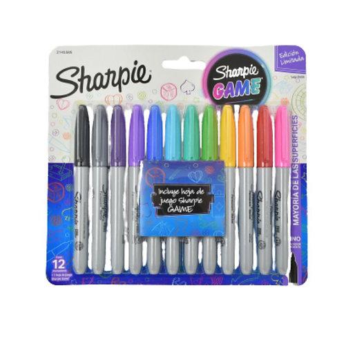 Sharpie - Marcadores Sharpie Game X12