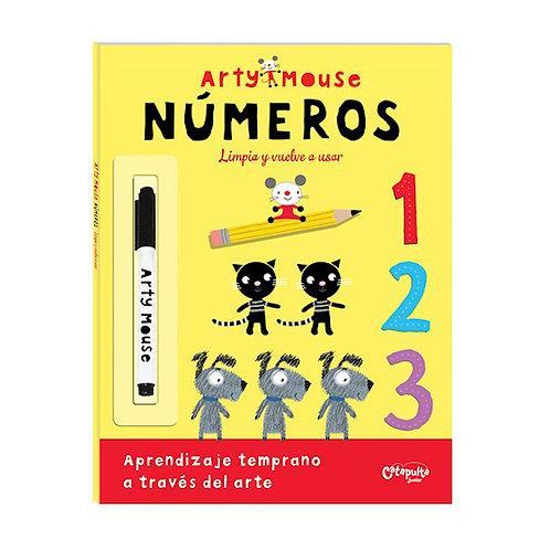 Arty Mouse Números