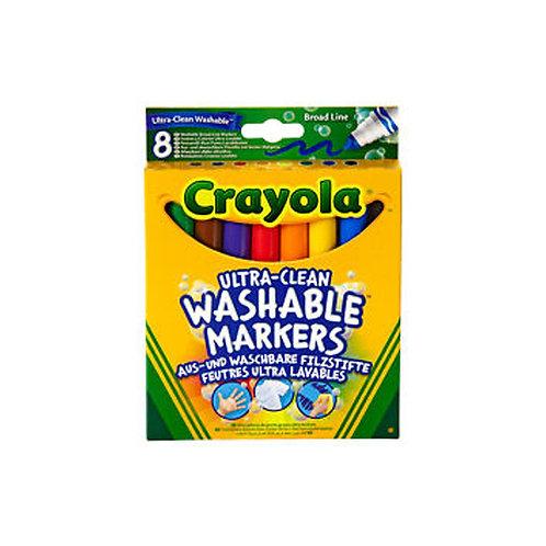 Crayola - Jumbo Lavables x8