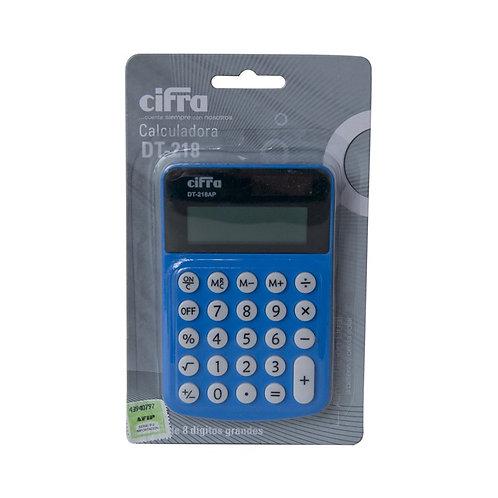 Calculadora Cifra . DT-218