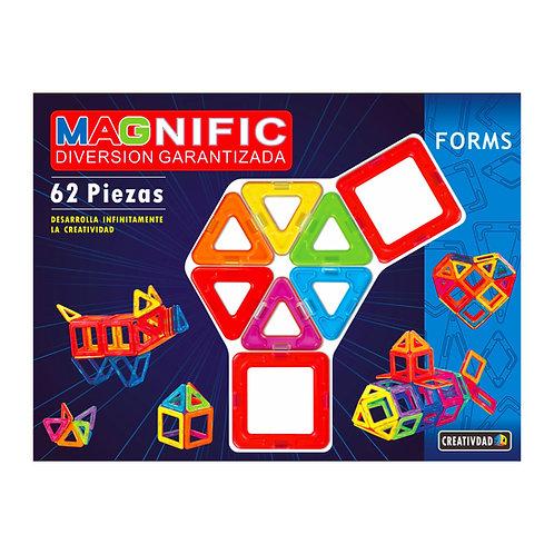 Magnific - 62 piezas Magnéticas!