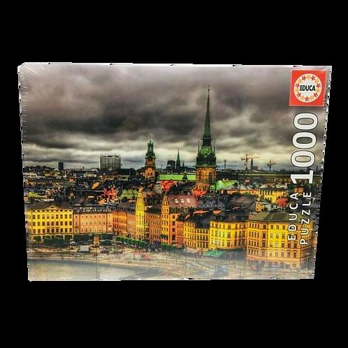 EducaPuzzle - 1000 Piezas Ciudad Tormenta