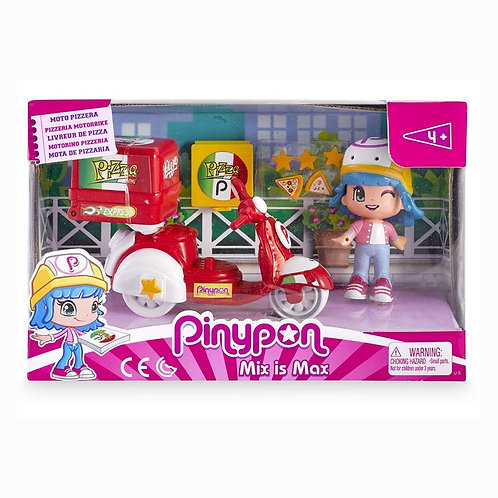 Pinypon - Moto de delivery Pizza