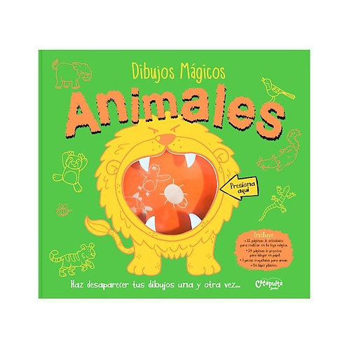 Libro-Pizarra  Dibujos Mágicos Animales
