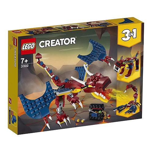 Lego Creator - 31102 Dragón
