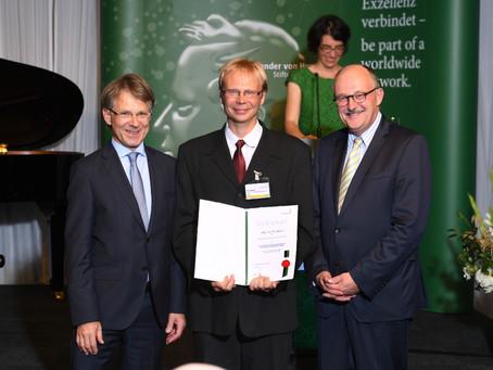 Gratuláció Örsnek a Humboldt díjért!