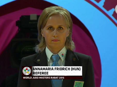Fridrich Annamária olimpiai bíró Rióban