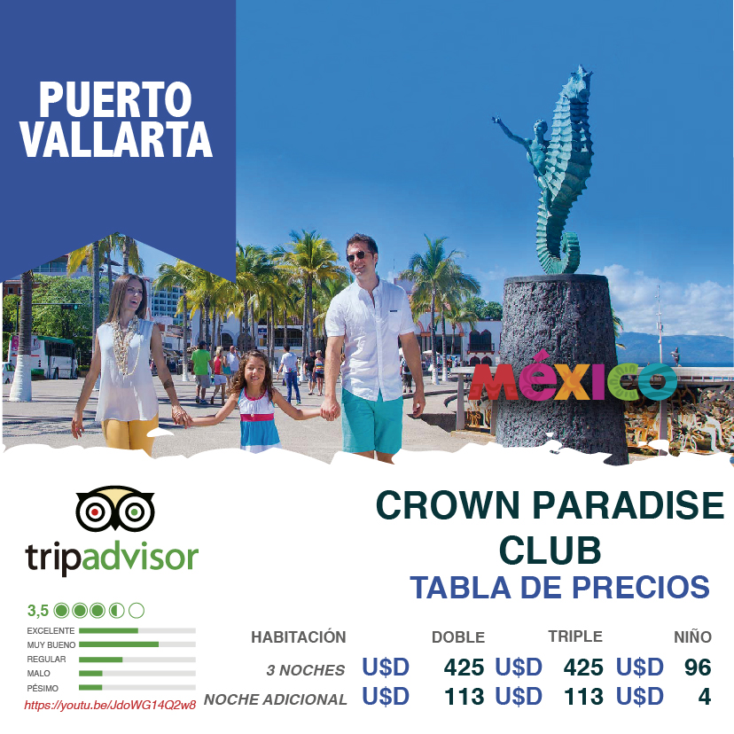 viajesjumbo-puertovallarta-crownparadise2