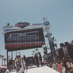 Pretty cool. DC shock services on the jumbotron at the Baja 500