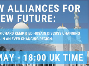The Caerulean: ''In Conversation with Ed Husain and Colonel Richard Kemp''