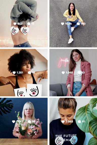 BREAST CANCER AWARENESS INFLUENCER CAMPAIGN  In collaboration with Super an der Spree
